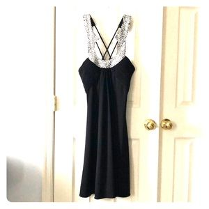 JS Boutique Sequins and Pearls Dress - Size 10